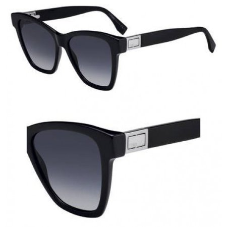 Fendi Black Lens (Sunglasses Fendi Ff 289 /S 0807 Black / 9O dark gray gradient)