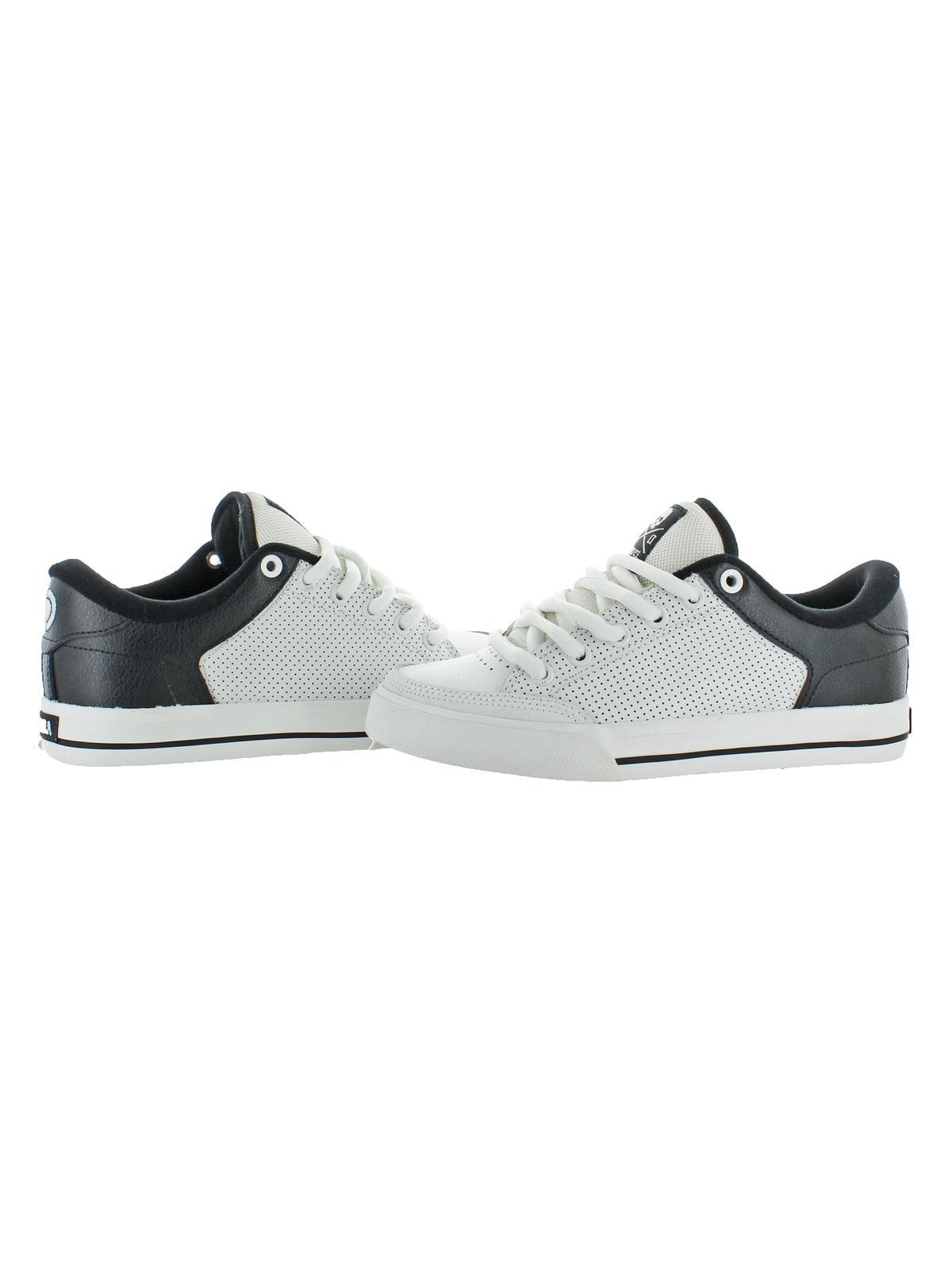 C1RCA Mens Lopez 50 SE Classic Vulc Skate Shoes White 6 Medium (D)