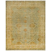 Safavieh Oushak Coruna Hand Knotted Wool Soft Green/Ivory Area Rug