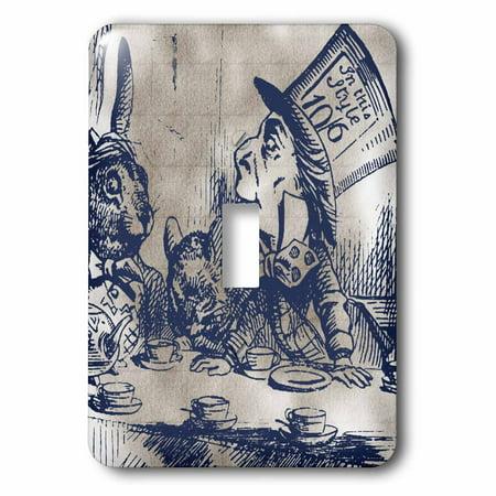 3dRose Mad Hatter Vintage Alice in Wonderland Tea Party, Sin
