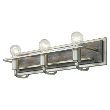 Varaluz Lofty 3 Light Bathroom Vanity Light