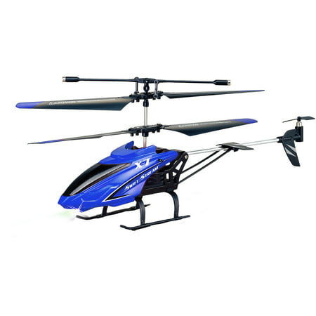 Swift Stream Remote Control 9.4 inch Blue X-7 Helicopter (22 Inch Rc Helicopter)