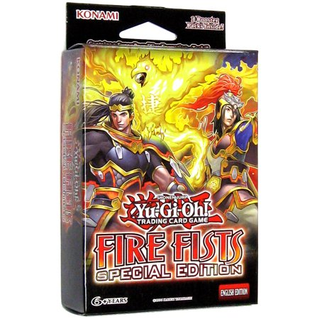 Yu-Gi-Oh Fire Fists Special Edition Pack
