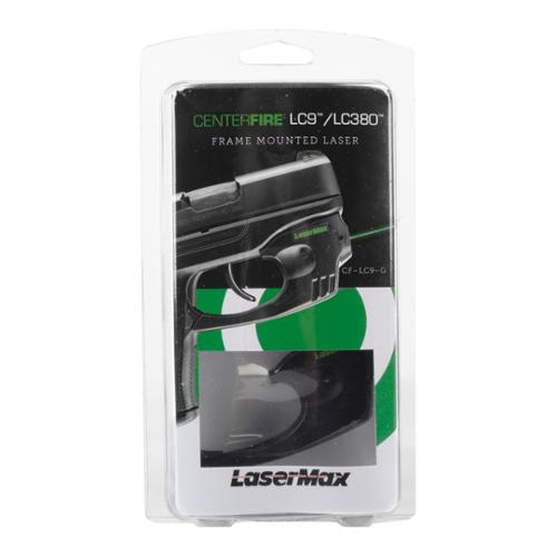 LaserMax CenterFire Laser for Ruger LC9 in Green  CF-LC9-G