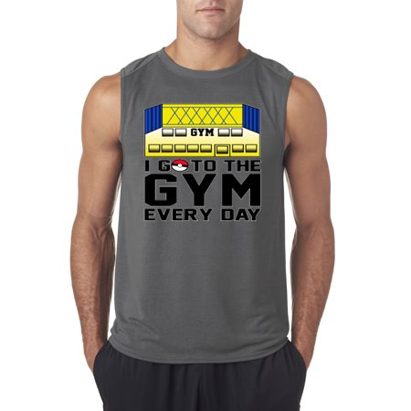 New Way 517 - Men's Sleeveless I Go To The Gym Every Day