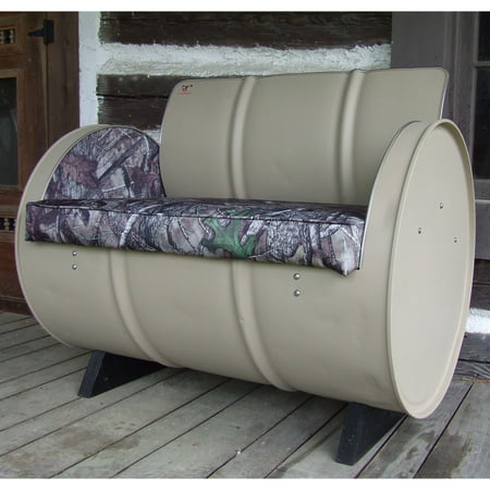 Drum Works Furniture Htc True Timber Camo Bench Walmart Com