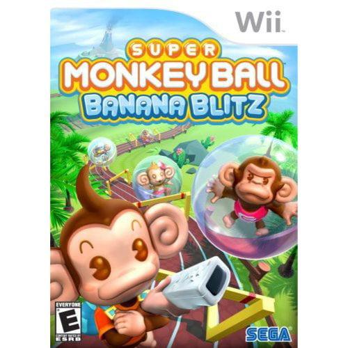 Wii - Monkey Ball Banana Blitz