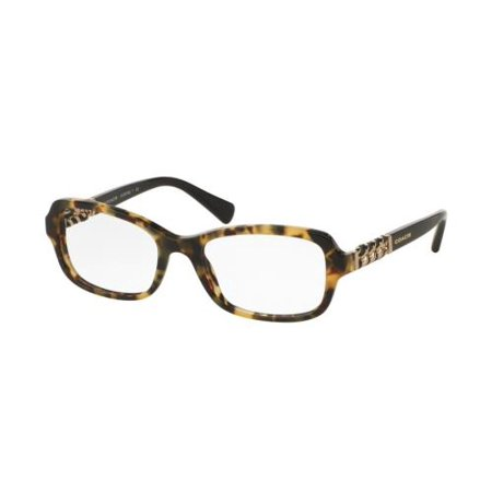 COACH Eyeglasses HC6075QF 5324 Dark Vintage Tortoise/Black - Vintage Cinch
