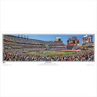 "New York Mets 39"" x 13.5"" All-Star Game Standard Black Framed Panoramic"
