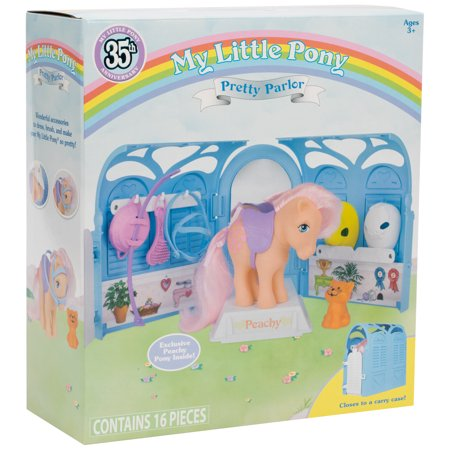 My Pretty Pony (My Little Pony Classic - 35th Anniversary Pretty Parlor Playset - Includes)