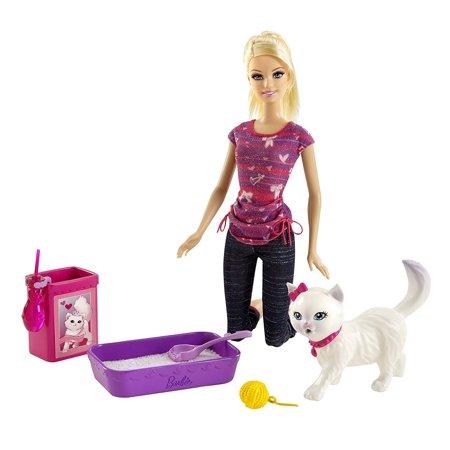 Barbie Potty Training Blissa Barbie Fashion Doll and Pet Playset - Babies Animal