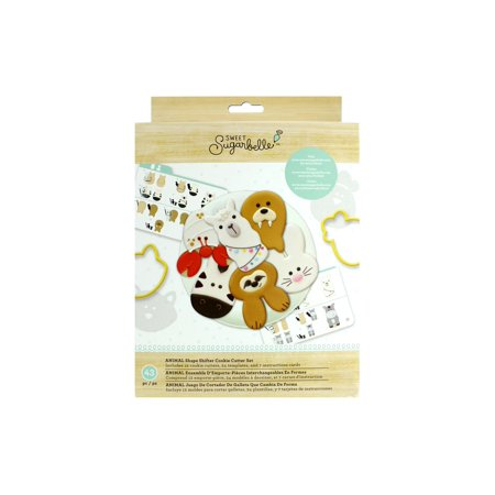 AMC Sugarbelle Cookie Cutter Set Animal Shape