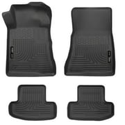Husky Liners Front & 2nd Seat Floor Liners Fits 10-14 Mustang Convertible/Coupe