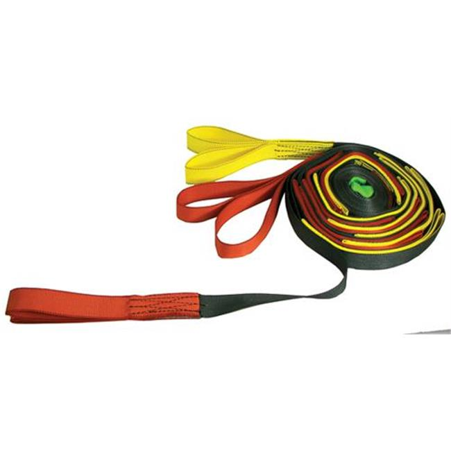 Olympia Sports GY143P Easy Multi-Grip Tug-Of-War Rope - 20 Loop 39 ft.