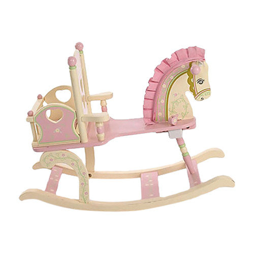 Levels of Discovery Kiddie Ups Rock-A-My-Baby Rocking Horse