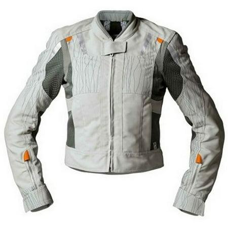 Bmw Genuine Motorcycle Motorrad Riding Airflow Jacket Ladies Silver Eu 38 Us 8