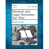 Political and Legal Remedies for War.
