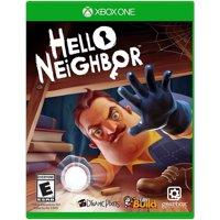 Hello Neighbor, Gearbox, Xbox One