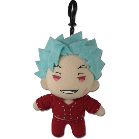 Plush Key Chain - Seven Deadly Sins - Ban 5'' Licensed ge52258 - image 1 de 1