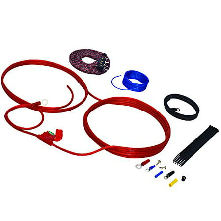 Stinger SK46101 10 Gauge 4000 Series Power and Signal Amplifier Install Kit