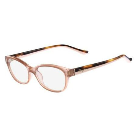SALVATORE FERRAGAMO Eyeglasses SF2722 643 Antique Rose 53MM SALVATORE FERRAGAMO Eyeglasses SF2722 643 Antique Rose 53MM