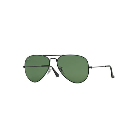 Ray-Ban Unisex RB3025 Classic Aviator Sunglasses, (Ray Ban Aviator 58mm Polarized)