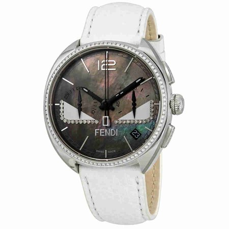 Bug Watch - Fendi Momento Black with White Bug Eyes Dial Mens Watch F214011441E1