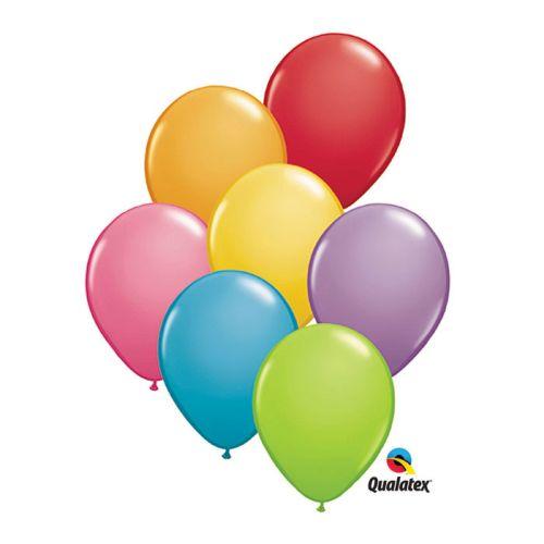 "Burton & Burton 5"" Festive Assortment Balloons, 100 Pack"