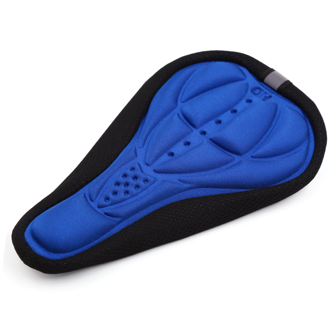 Soft Bike Seat Pad Cover Breathable Bicycle Saddle Cover Cushion Blue Black
