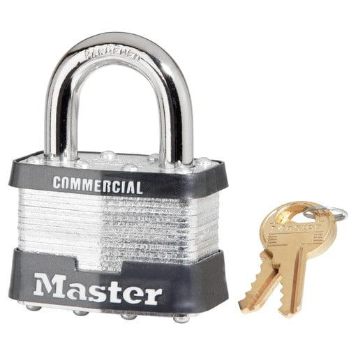 """Master Lock 5KA A389 2"""" No. 5 Laminated Padlock"""