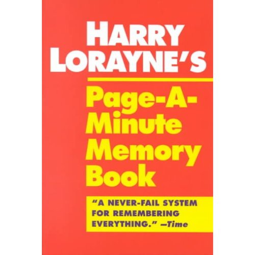 The Memory Book By Harry Lorayne Free Download