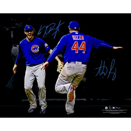 purchase cheap 096cf 4ed3d Kris Bryant, Anthony Rizzo Chicago Cubs Fanatics Authentic Autographed 16