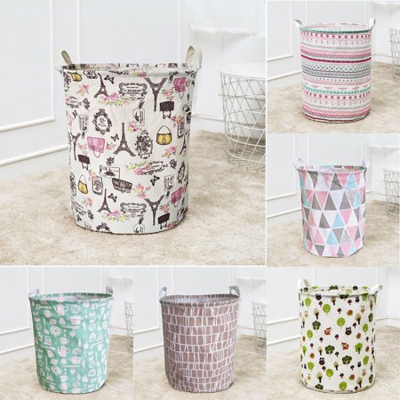 Meigar Dirty Clothes Laundry Basket Collapsible Fabric Laundry Hamper Foldable Clothes Bag Waterproof Folding Washing Bin