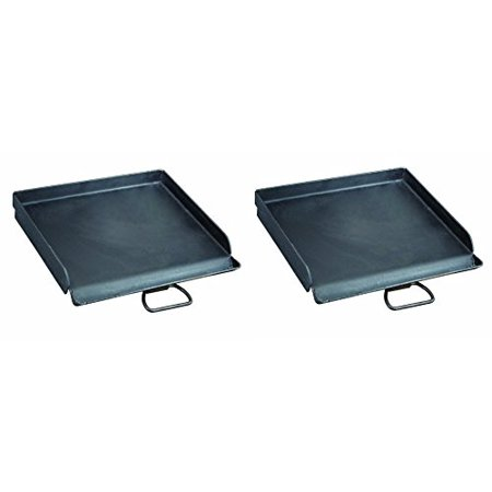 Camp Chef SG30 Professional Steel Fry Flat Top Griddle, Pre-Seasoned - Fits All Blue Flame Stoves (single burner) (Pack of (Camp Chef Professional Series)