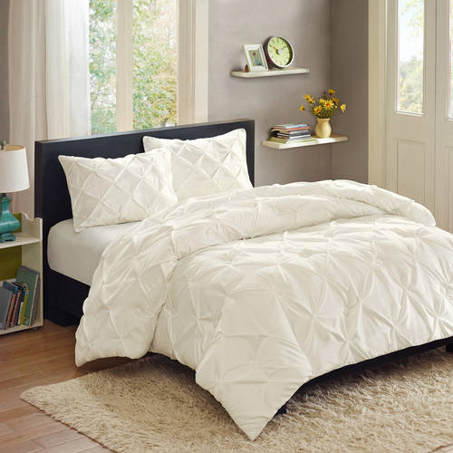 better homes and gardens pintucked 3piece comforter set