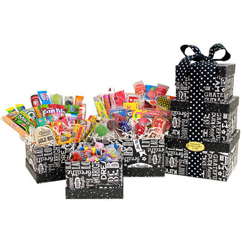 Candy Crate Sweet Sentiments Candy Gift Tower