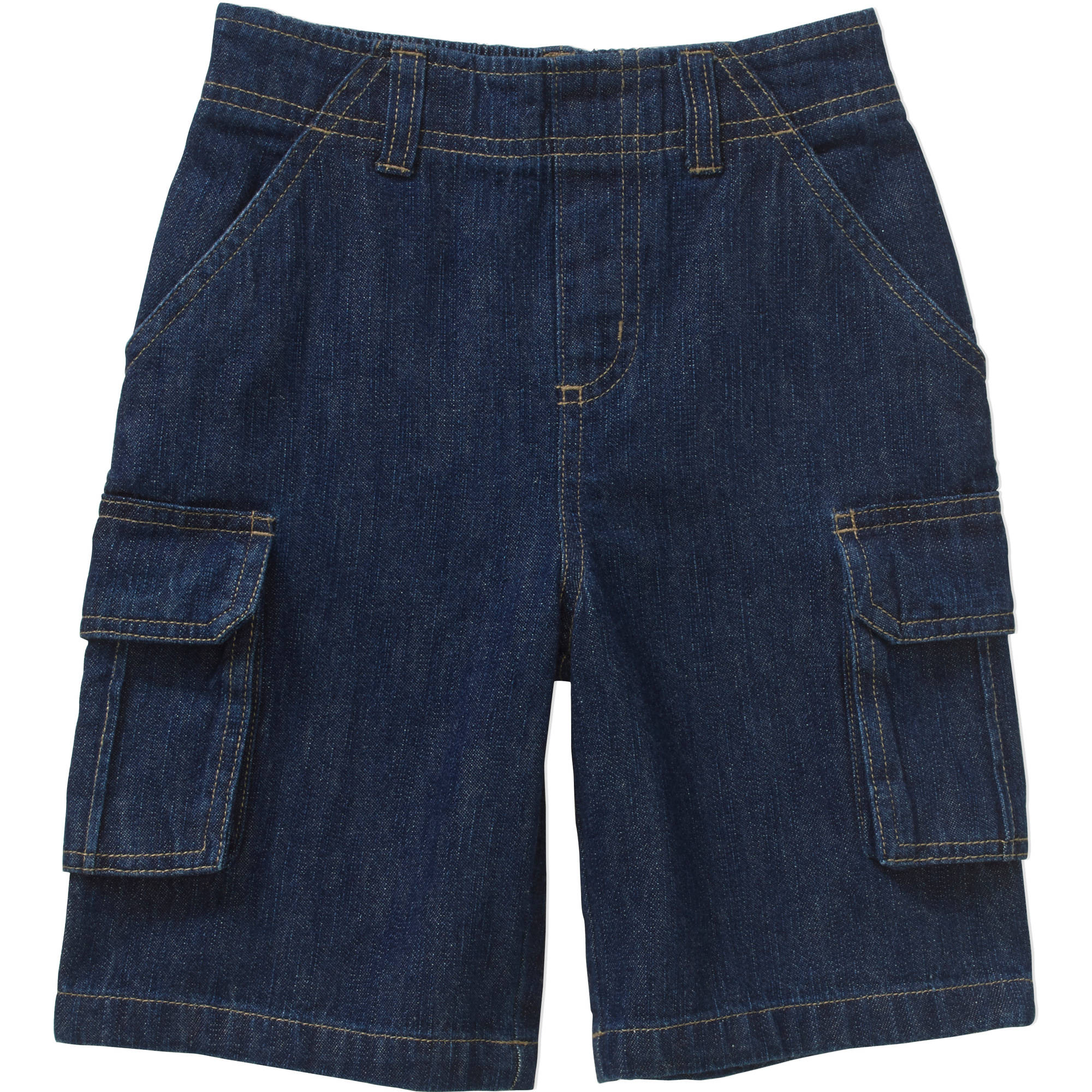 Image of 365 Kids From Garanimals Boys Denim Cargo Shorts