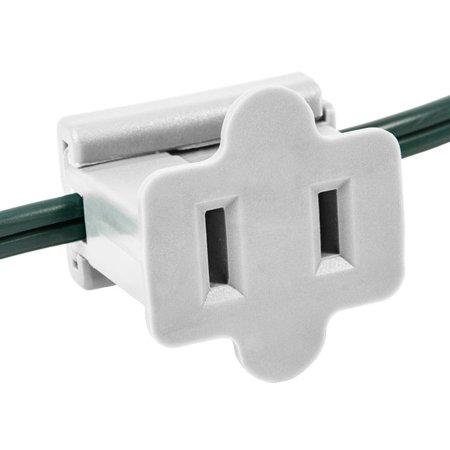 Holiday Lighting Outlet In Line P Through White End Slip Plug Zip Vampire Gilbert Slide 5 Spt 1