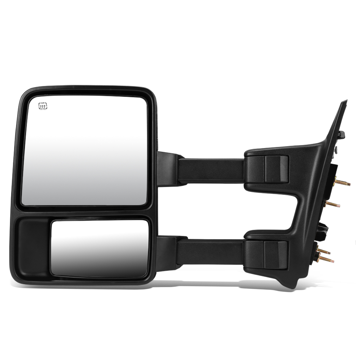 For 1999-2007 Ford Super Duty Powered w/Heated+Amber LED Turn Signal Towing Mirror (Left/Driver)