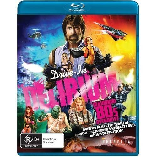 Drive In Delirium: Hi Def Hysteria - Maximum 80s Overdrive (Blu-ray)
