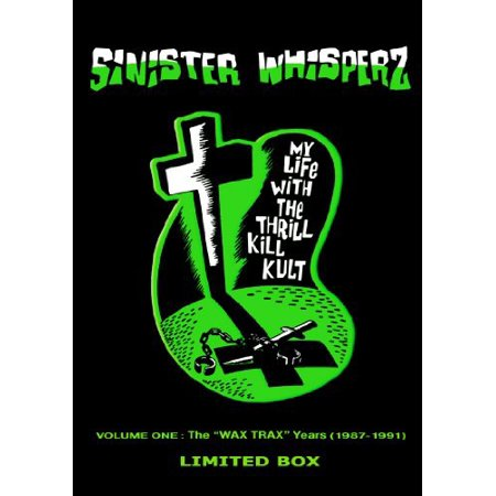 Sinister Whisperz, Vol. 1 Wax Trax Years [Limited Edition] [Box Set] (CD) (Limited (My Life With The Thrill Kill Kult Sexplosion)