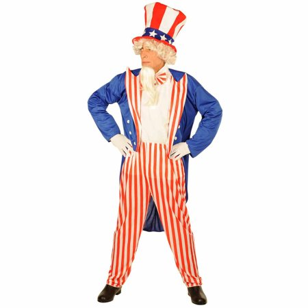 Uncle Sam Adult Halloween - Sam Club Halloween Costumes