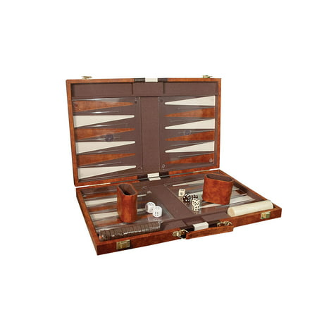 Deluxe Backgammon Set - Tactile Backgammon Set Large Attache