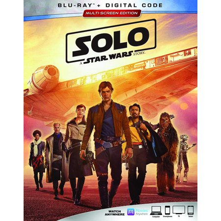 Solo: A Star Wars Story (Blu-ray + Digital Code) (Star Wars Empire At War Phoenix Rising)