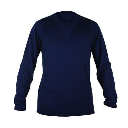 Adidas Golf Sweater - Adidas SLVR Knit Sweater - Legend Blue (Mens)