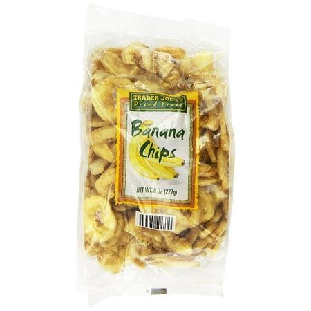 Trader Joe's Banana Chips 8oz Bag (Trader Joe's Halloween Treats)