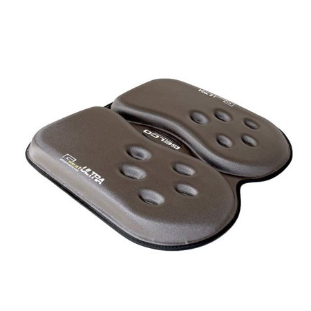 G-seat Gel Cushion (GSeat ULTRA Orthopedic Gel and Foam Seat Cushion (Gray) For Coccyx, Back, Tailbone, Prostate, Postnatal, and Sciatica )