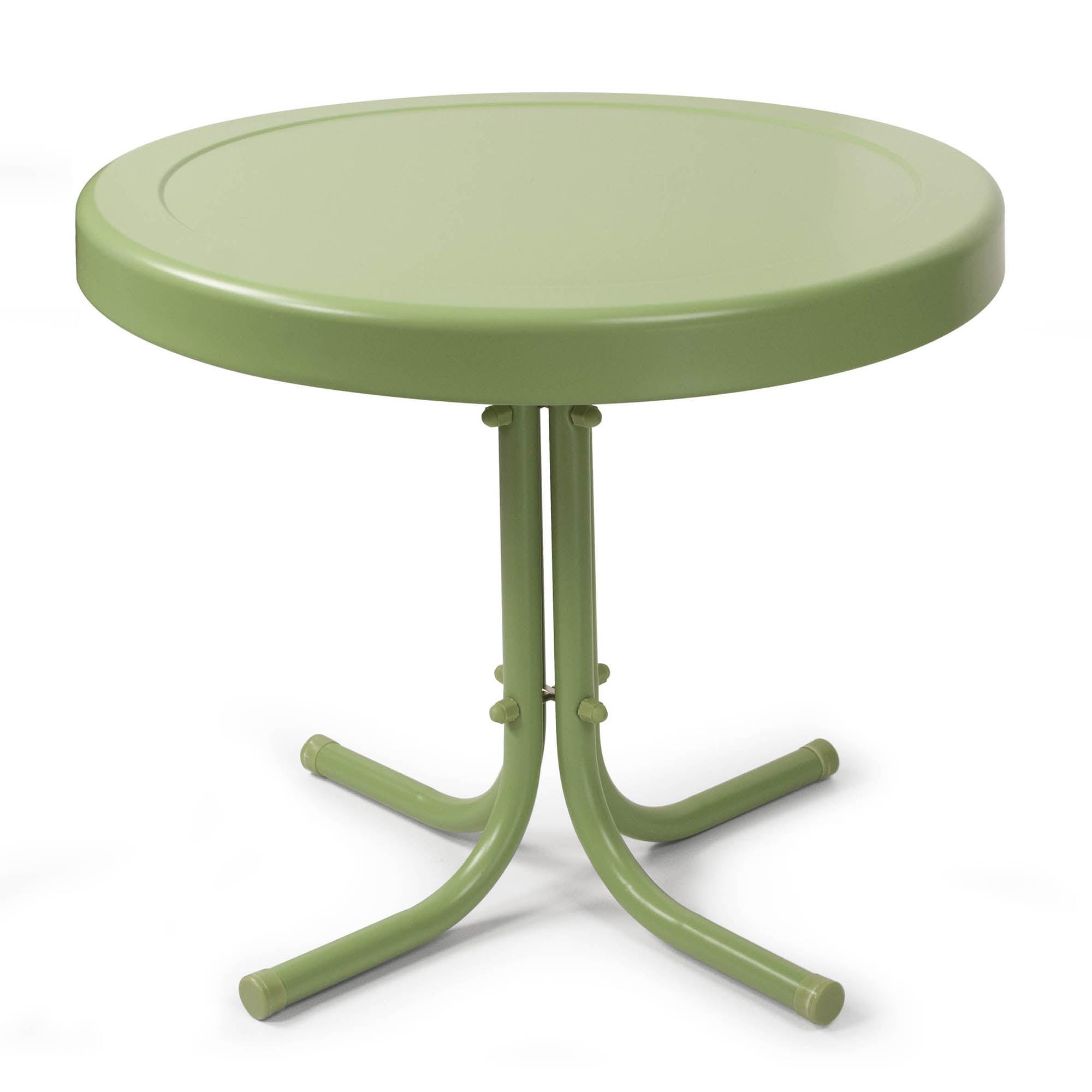 Crosley Furniture Retro Metal Side Table by Generic