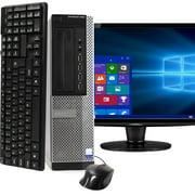 Dell OptiPlex 990 Desktop Computer PC, 3.40 GHz Intel i7 Quad Core Gen 2, 16GB DDR3 RAM, 1TB SATA Hard Drive, Windows 10 Home 64bit Refurbished