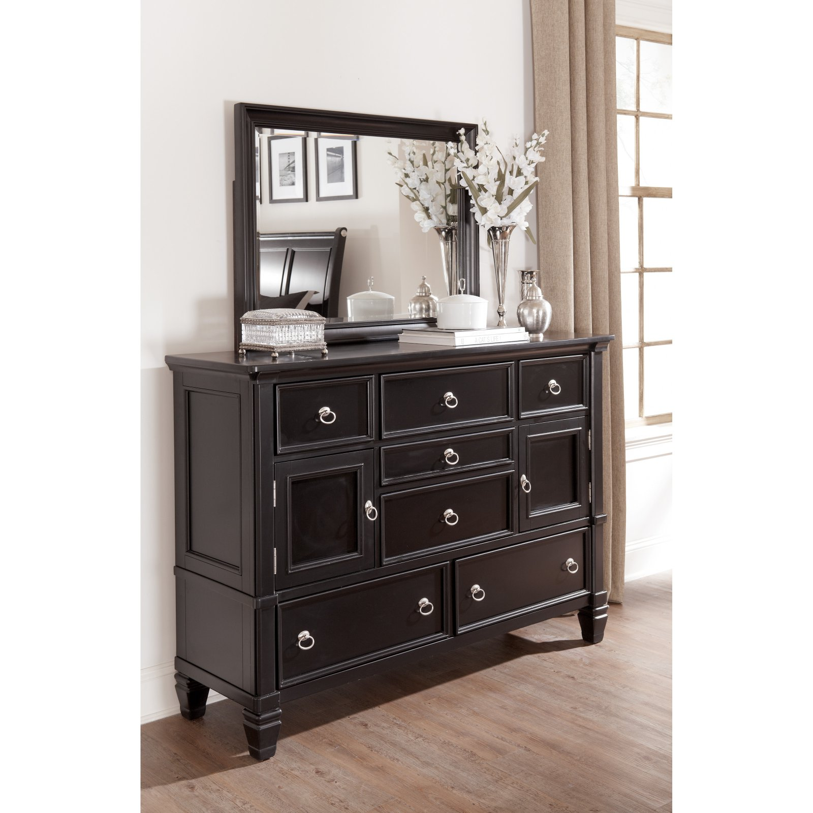 Signature Design by Ashley Greensburg 7 Drawer Dresser with Optional Mirror